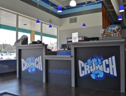 Crunch Reception Desk